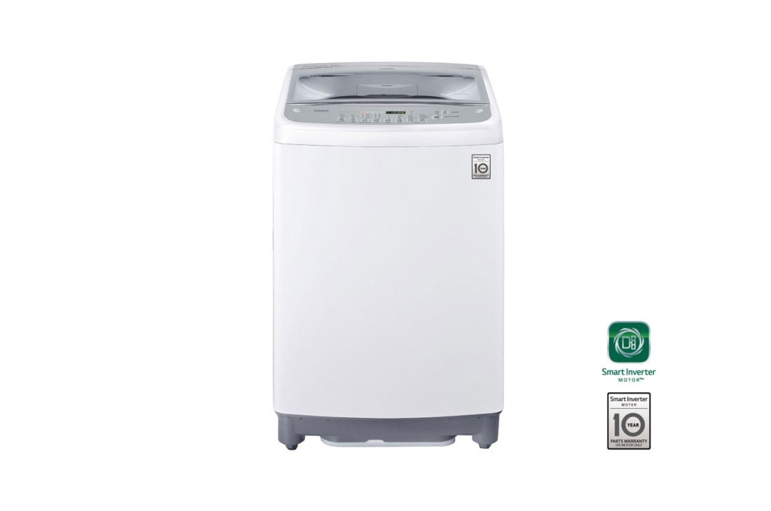 WASHING MACHINE LG TOP LOADER WHITE 15KG – T1566NEFTC